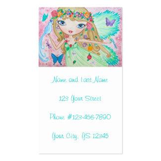 """Goddess of Spring"" Pack Of Standard Business Cards"