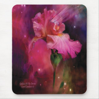 Goddess Of The Devine Iris Mousepad