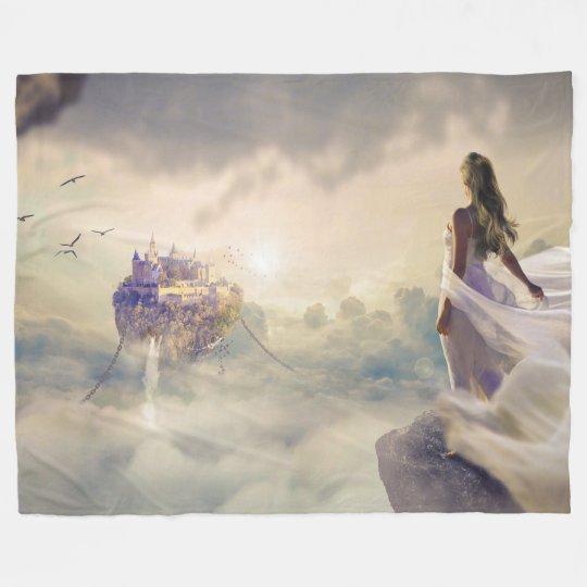 Goddess of the floating City Blanket