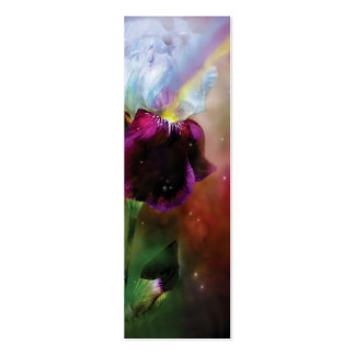 Goddess Of The Rainbow Art Bookmark Double-Sided Mini Business Cards (Pack Of 20)