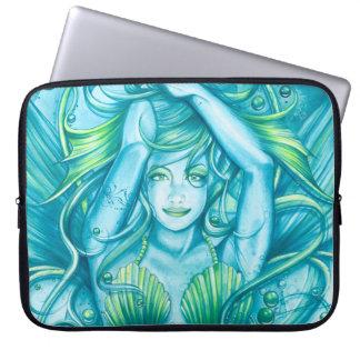 Goddess of the Sea Laptop Sleeve