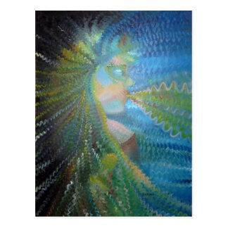 Goddess OfTheUniverse Postcard