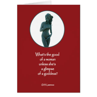 Goddess Quote Card