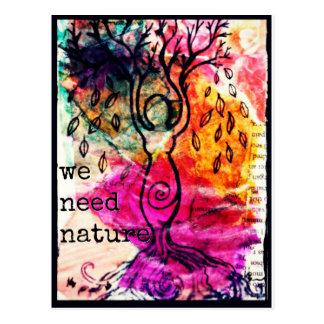 Goddess Tree Postcard