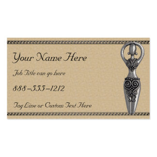 Goddess with Greek Wave Frame Pack Of Standard Business Cards