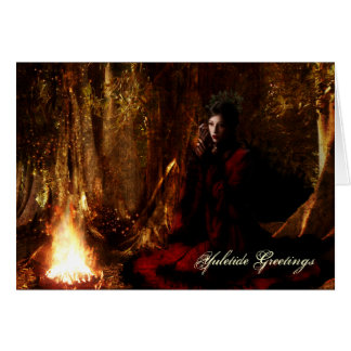 Goddess Yuletide Greetings Card
