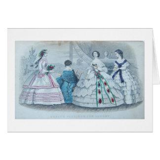 Godey's Fashions, Card