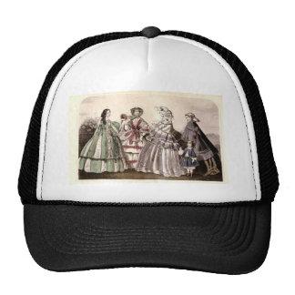 Godey's Ladies Book Victorian Fashion Plate Weddin Cap