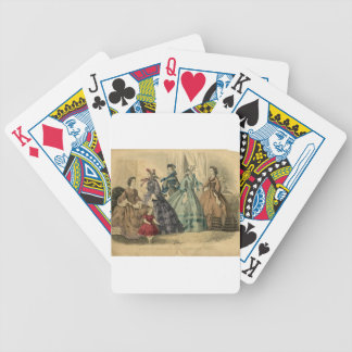 Godey's Ladies Book Victorian Fashion Plate Weddin Deck Of Cards