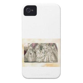 Godey's Ladies Book Victorian Fashion Plate Weddin iPhone 4 Case-Mate Case