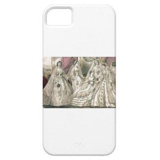 Godey's Ladies Book Victorian Fashion Plate Weddin iPhone 5 Case