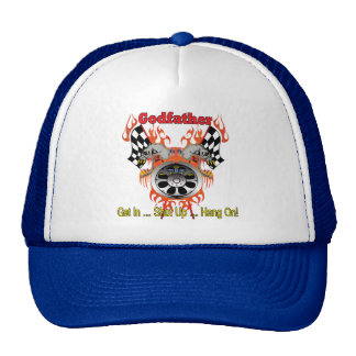 Godfather Fathers Day Gifts Trucker Hat
