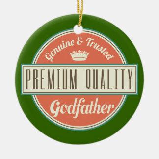 Godfather (Funny) Gift Ceramic Ornament