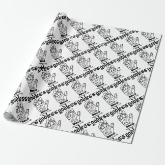 Godless Atheist Wrapping Paper
