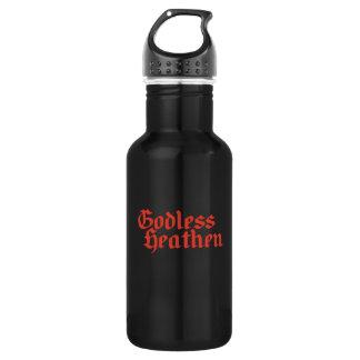 Godless heathen 532 ml water bottle