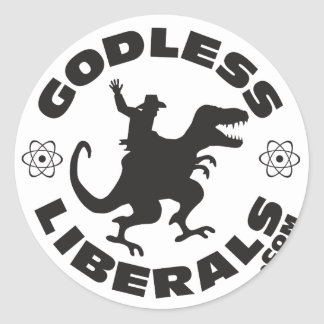 Godless Liberals Official Logo Sticker