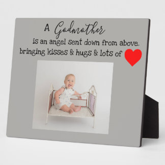 Godmother baptized plaque
