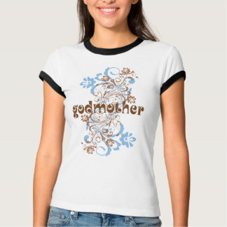 Godmother Flowered Swirl Gift Tee
