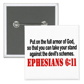 God's Armor Pinback Buttons