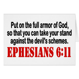 God's Armor Greeting Card