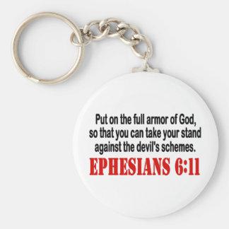 God's Armor Key Chains
