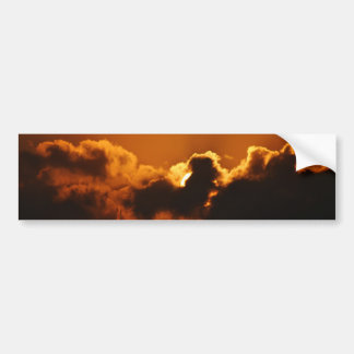 God's Blessing at sunset Bumper Stickers