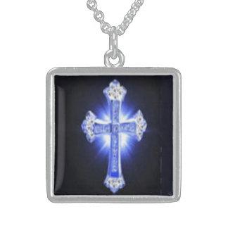 God's child square pendant necklace
