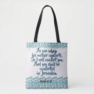 God's Comfort All-Over-Print Tote Bag