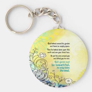 God's Garden Key Ring