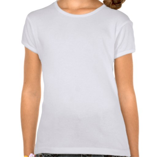 Gods Gift  Girls' Fitted Bella Babydoll Shirt