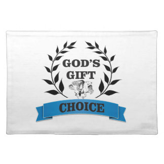 gods gift horse placemat