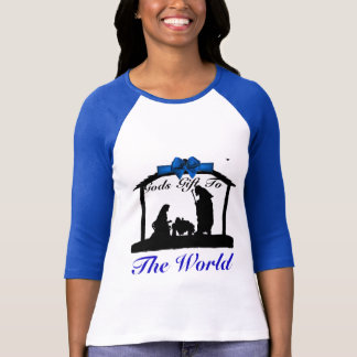 Gods Gift To the World Women's Bella+Canvas 3/4 T-Shirt
