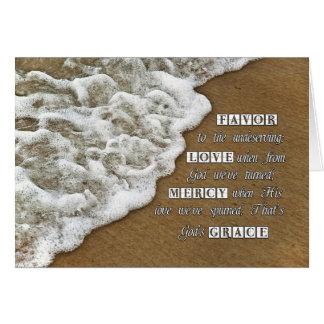 God's Grace Card