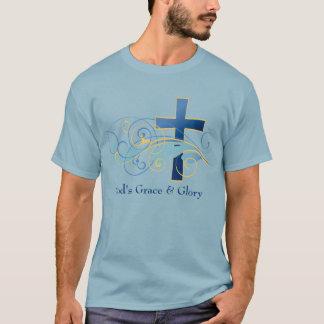 God's Grace & Glory Men's Basic Dark T-Shirt