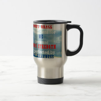 God's grace is sufficient coffee mug