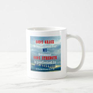 God's grace is sufficient mugs