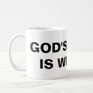 """God's Grace Is With Us"" Classic Mug"