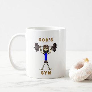 God's Gym (mug) Coffee Mug
