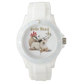 Gods hand puppy watch