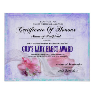 God's Lady Elect Poster