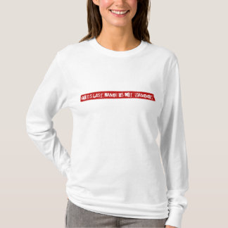 God's last name is not Dammit! t-shirt
