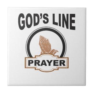 gods line prayer tile