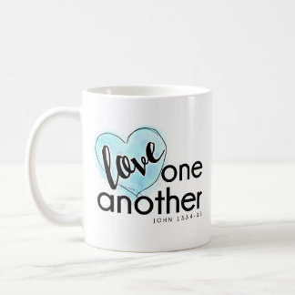 God's Love Coffee Mug Blue