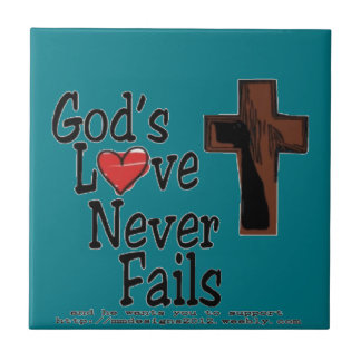 GOD's love Tile