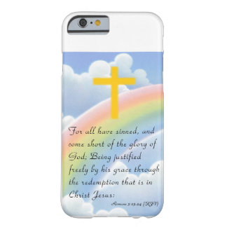 God's Love with Gold_Colored Cross iPhone 6 case Barely There iPhone 6 Case