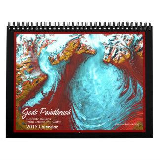 God's Paint Brush 2015 Calendar