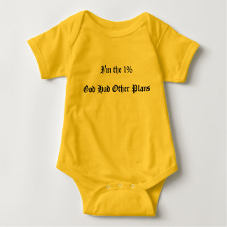 God's Plan Baby Jumper Baby Bodysuit