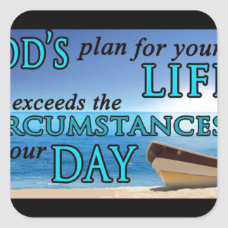 God's Plan For Your Life Sticker