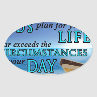 God's Plans For Your Life Sticker