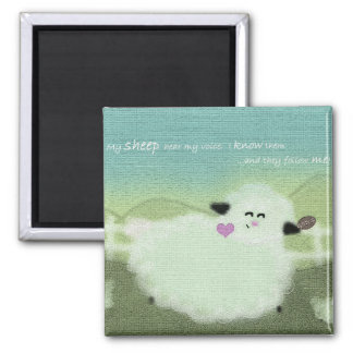 God's Sheep Magnet